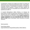 Suspensão dos estágios no Hospital Odilon Behrens